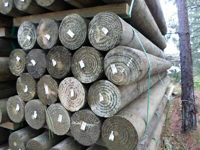 150mm x 1.8m ACQ Logs Pack of14