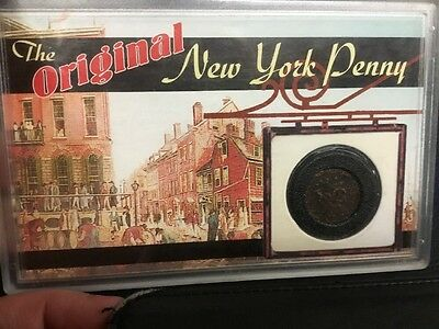 1700's THE ORIGINAL NEW YORK PENNY