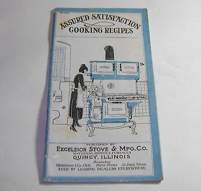 Antique National Stoves Furnaces Excelsior Recipe Catalog - Ashley Indiana Store