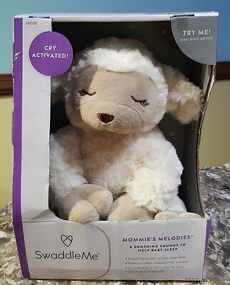 SWADDLEME Mommie's Melodies Soother Lamb plush Animal