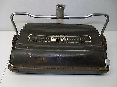 Bissell's Grand Rapids Wood & Metal Carpet Sweeper - No Handle - Bisco-Matic