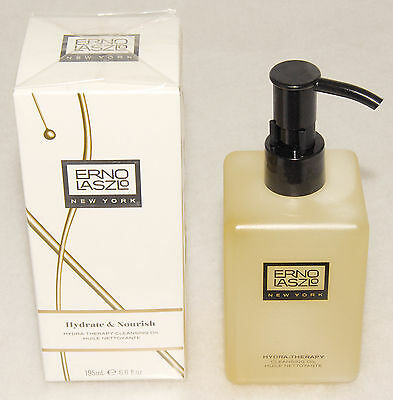 Erno Laszlo Hydra-Therapy Cleansing Oil 195ml BNIB New & Sealed Boxed