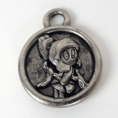 Cute MARVIN the MARTIAN Round Medallion-Type Charm