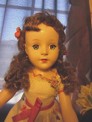 American Character Sweet Sue 17in. Red hair ponytails HP