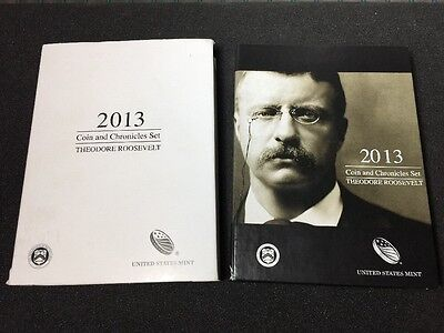 2013 Theodore Roosevelt Coin and Chronicle Set