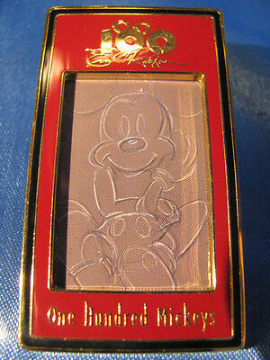 DISNEY 100 ONE HUNDRED MICKEYS PIN #84 White Line Study Eric Robison