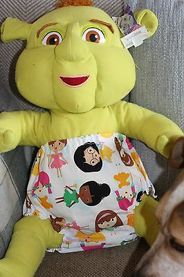 Handmade Diaper/nappy Cover Pants 12-24 Months(Unisex) Girlfriends Reduced