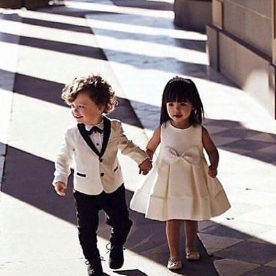 New Page Boy Wedding Suit Bespoke Child Formal Birthday Dinner's Party Tixedos