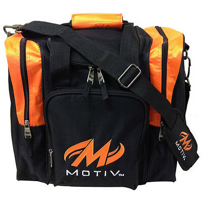 Motiv Deluxe Single Bag - Orange/Black - Brand New - Free Shipping!!
