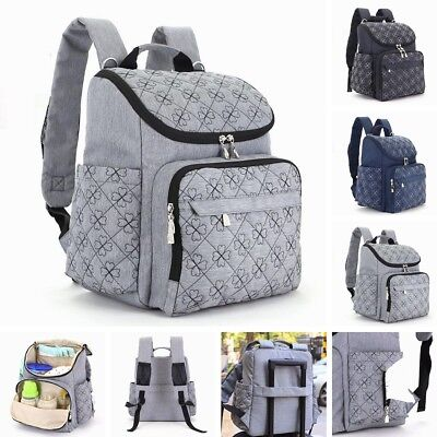AU Mummy Maternity Bag Baby Nappy Diaper Bag Travel Backpack Nursing Bags New