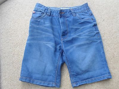 Boys NEXT denim shorts 12 years