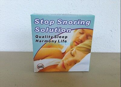 Snoring Cessation SLEEP STOP SNORING MOUTHPIECE SOLUTION ANTI SNORE GUARD APNEA