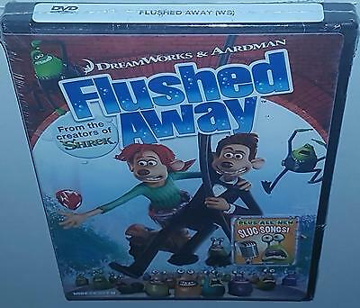 Flushed Away (200) Brand New Sealed Region 1 Dvd