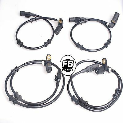 4 NEW ABS Wheel Speed Sensor Front-Rear Left & Right For BENZ ML320 ML430 ML500