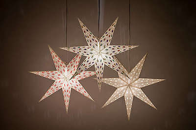 Spirit Paper Star Light Shades, Hanging Ceiling Lampshades Christmas Decorations
