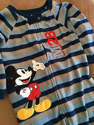 Disney Baby Mickey Mouse Jump Suit Or Romper Size 1 (12-18 months)