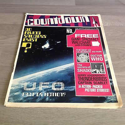 COUNTDOWN - Vintage Paper Comic - Issue No.1 - February 20, 1971 - NO Free Gift!