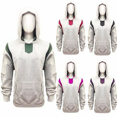 New Plain Mens American Fleece Zip Up Hoody Jacket Sweatshirt Hooded Plain