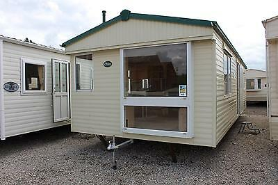 ATLAS EVERGLADE 32x12x2beds Static Caravan Temporary Accomadation