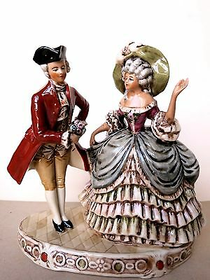 Antique GRAFENTHAL GERMANY Porcelain Figurine of LADY and GENTLEMAN