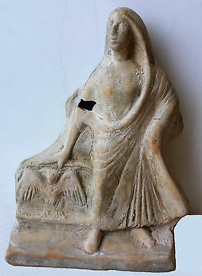 Ancient Greece terracotta sculpture rare 4-6 century BC