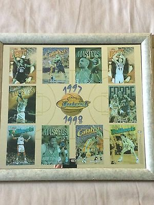 picture frame of the finest nba players in 1997-1998