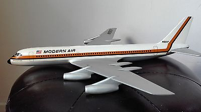 Vintage airlines desktop model convair 990 modern air maquette agence Pan am