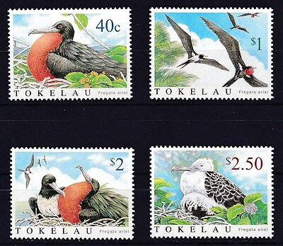 Tokelau 2004 Lesser Frigatebird Set of 4 MNH