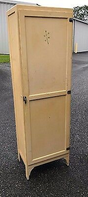 1920's Macy's French Country Style Kitchen Cabinet Cupboard / Chimney Cabinet