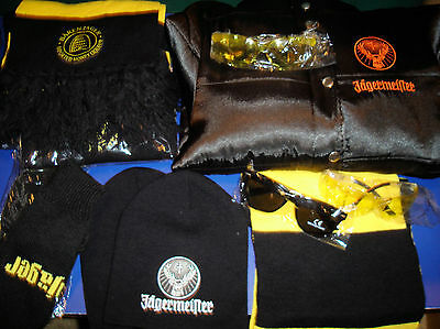 Jagermeister Ladies Coat, Hats, Gloves And Scarves, Sunglasses..all Brand New