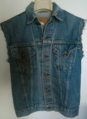 Levis Gilet jeans Made in USA tg. Small 36
