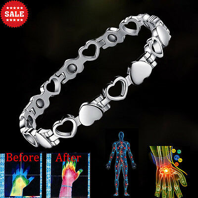 New Ladies Bio Magnetic Therapy Healing Bracelet-Arthritis Pain Relief