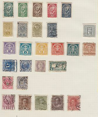 Sch128 A Selection Of Early  Mint& Used Stamps From Austria  Lot 24