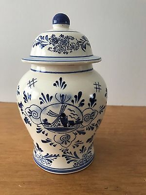 Blue & White Delft Ginger Jar