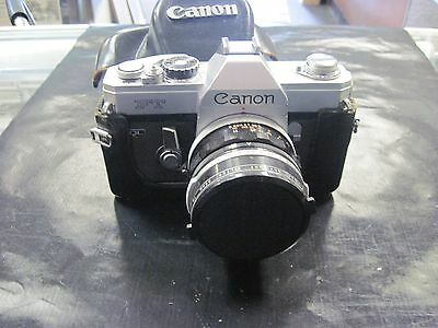 Canon Ft Body With Vivitar 58Mm Lens