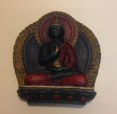 Hindu Collectible Seated God Statue Figurine