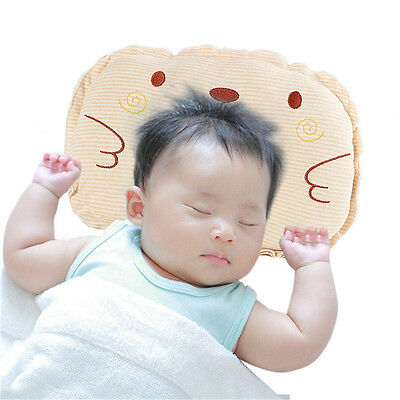 Baby Infant Newborn Pillow – Prevent Flat Head Neck Support Sleep Positioner
