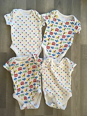 Baby Boys George Bright Transport Vests. New. 6-9 Months