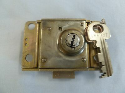 Western Electric 30C 3 Slot Payphone Lock w/ 1Key AT&T 30 C Single Slot Payphone