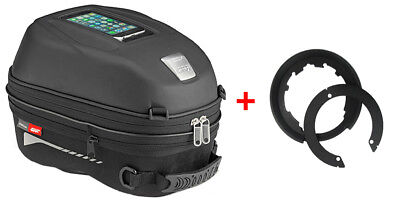 Givi Tanklock Combo Kit - ST603 15 Liter Tank Bag & BF11 Tank Ring Mount