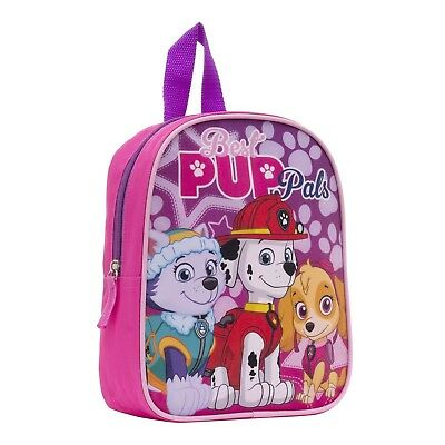 Back To School Paw Patrol Pup Pals Girls' Mini Backpack Book Bag Preschool Kids
