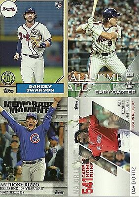 Complete Your Insert sets of 2017 Topps Series 1 & 2 - Pick 20