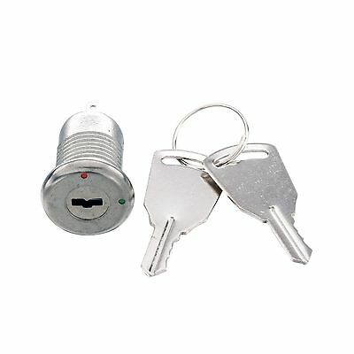 uxcell Electric 2 Positions ON OFF Metal Keylock Switch w Keys