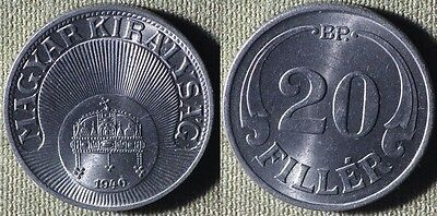 Hungary : 1940BP 20 Fill UNC #508  Stock Picture  IR5266