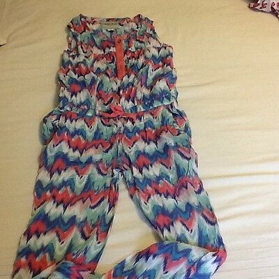 Summer  Aztec Jump Suit Age 6/7 Years