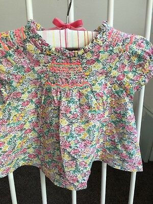 NEXT COTTON FLOATY TOP 3-6 Months