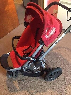 quinny buggy,red colour,used