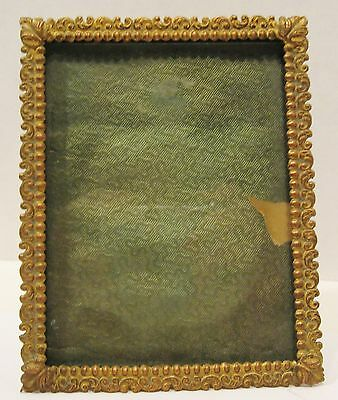 Antique Bronze/Brass Easel Back Picture Frame