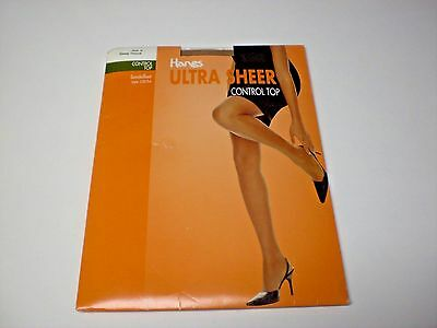 Hanes Ultra Sheer Control Top Pantyhose Size A Barely There