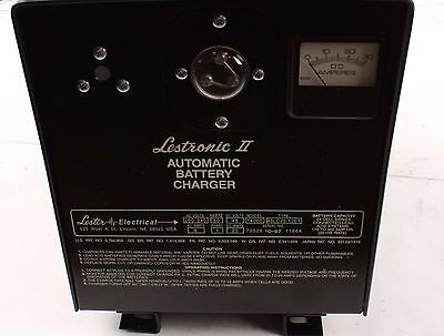New Lester Lestronic II Automatic Battery Charger 48LC25-12ET
